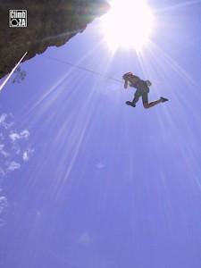 Climbing - fall